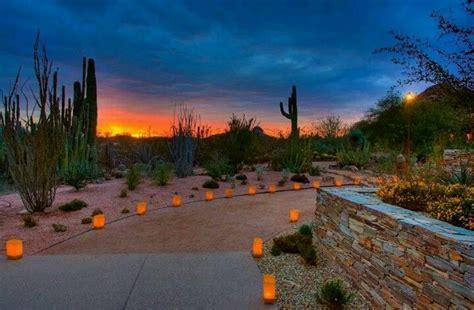 Desert Botanical Garden Luminaria Desert Botanical Garden Beautiful Arizona