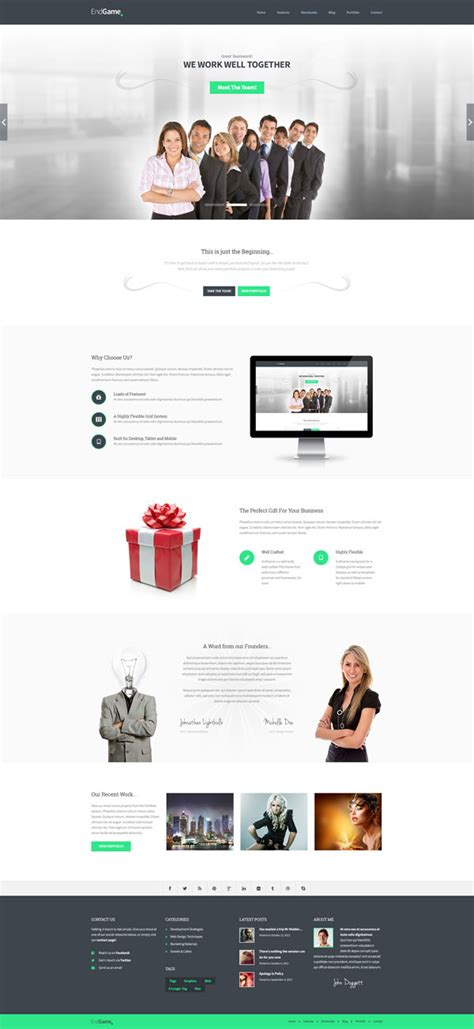 Ready Html Templates html5 responsive website templates web design graphic