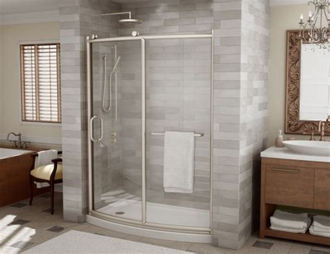 Modern Bathroom Doors Fleurco Roma Shower Doors Modern Bathroom Miami By