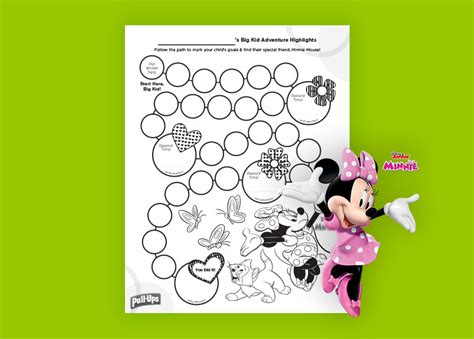 minnie mouse printable reward charts potty training minnie mouse sticker chart for girls pull