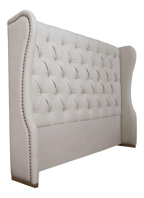 upholstered linen headboard upholstered linen headboard la residence interiors