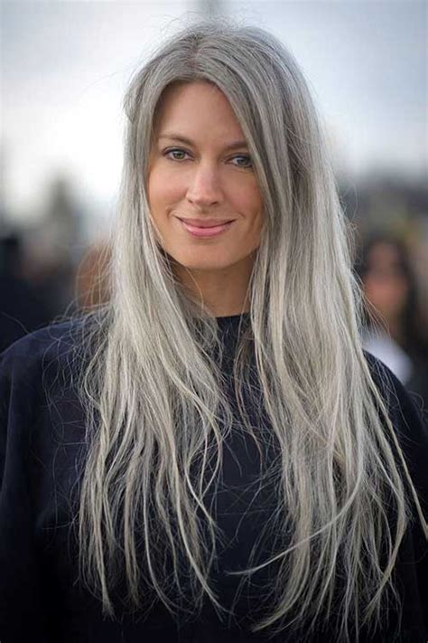 78 best images about trend grey hair on pinterest long gray hair styles 30 long gray hair 78 best images