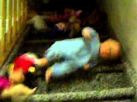 Baby Fell From by Babies Falling Stairs Original