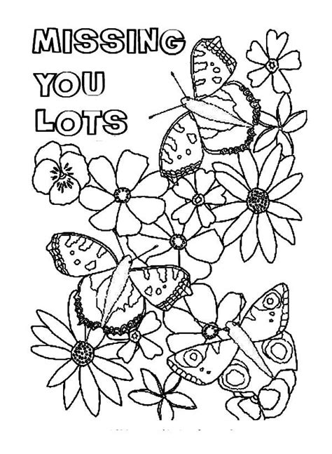 Miss U Coloring Pages by Big Fro You Because I Miss You Coloring Pages Big