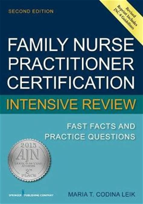 family practitioner certification intensive review