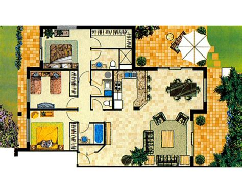 Apartment Plan by Apartment Floor Plans Turtle Beach Resort