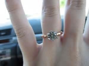 moissanite ring pics weddingbee