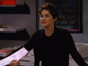 from friends where is the copy girl from friends now angela featherstone is still rocking the acting game