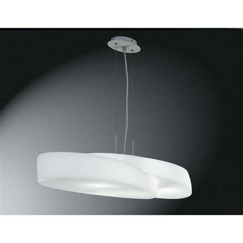 Indoor Pendant Lighting M1890 Ufo Pendant 6 Light Indoor White