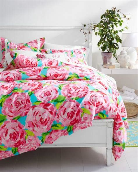 Lilly Pulitzer Bed Set Lilly Pulitzer 174 Florals Duvet From Garnet Hill