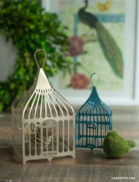 Paper Bird Cage Craft - decorative paper bird cages paper birds bird cages and