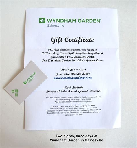 Wyndham Gift Card - wyndham gift certificates gift ftempo
