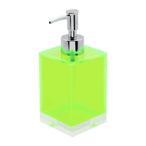 Flashin Soap buy lund flash blocco acrylic soap dispenser green amara