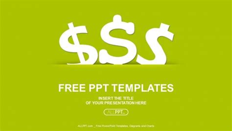 money templates for powerpoint free download vector money icon dollar finance powerpoint templates