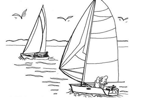 dessin bateau de course coloriage voiliers de course dessin gratuit 224 imprimer