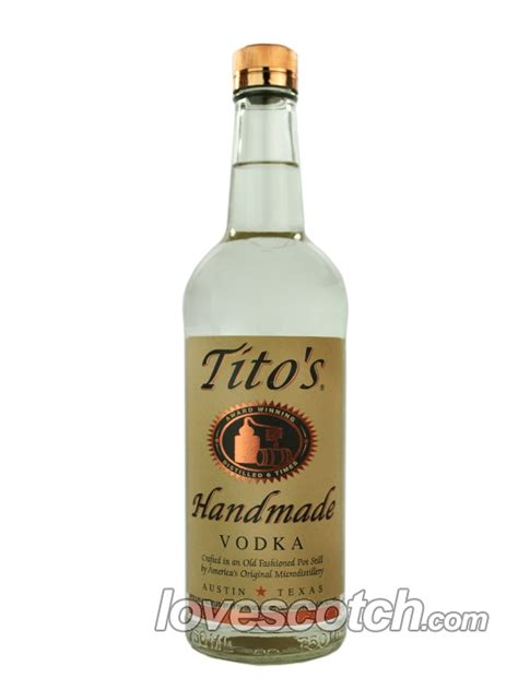 Tito S Handmade Vodka - tito s handmade vodka buy lovescotch