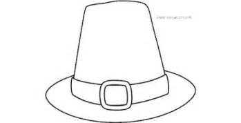 pilgrim hat cut out template printable thanksgiving coloring pages