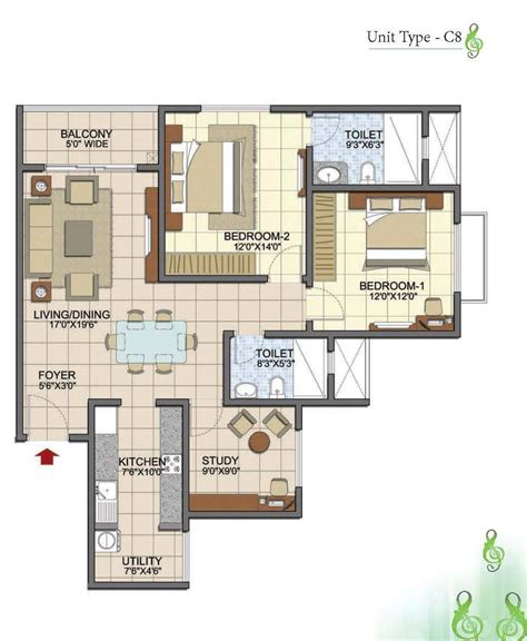 2 5 bhk floor plan 100 2 5 bhk floor plan villas and apartments in