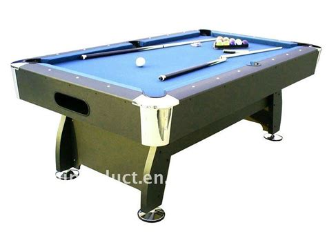 best quality mdf billiard table pool table china factory
