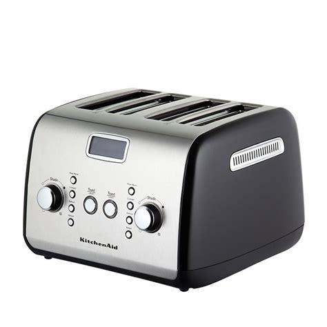 4 Slice Toasters On Sale Kitchenaid Artisan 4 Slice Toaster Onyx Black On Sale Now