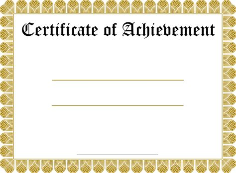 downloadable certificate templates blank certificate templates kiddo shelter blank