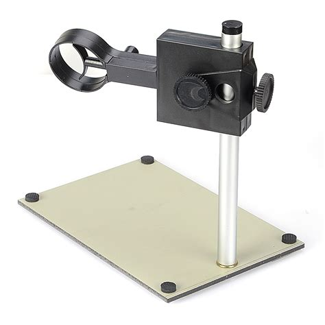 Microscope Poertable portable adjustable manual focus digital usb microscope holder stand support adjusted up and