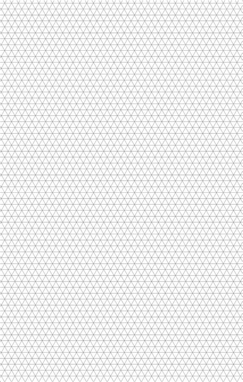 Plaplate Generik 1 Mm A4 a4 5mm 3d isometric sketch graph paper free