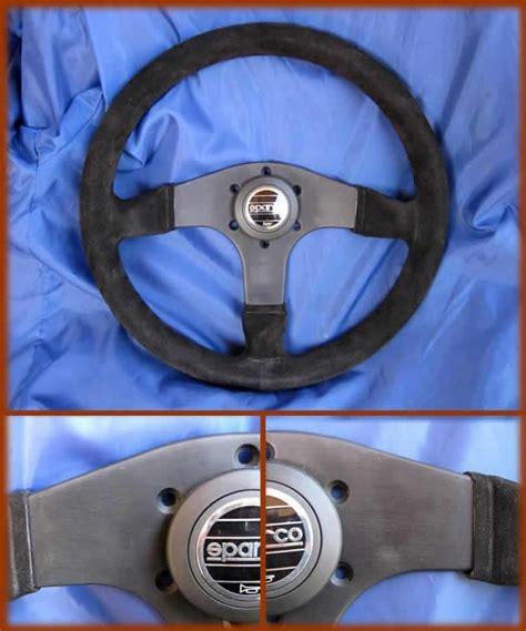 volante sportivo volante sportivo in pelle scamosciata a 3 razze pulsante