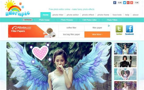 decorar tus fotos online adornpic 6 herramientas web para editar y decorar tus fotos