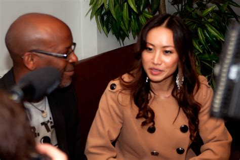 film blue songs chinese star ayi steps out to british film event in london