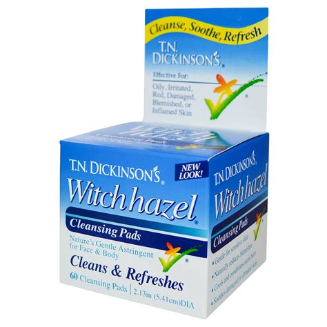witch hazel for dogs dickinson brands t n dickinson s witch hazel cleansing pads 60 pads 2 13 in 5 41
