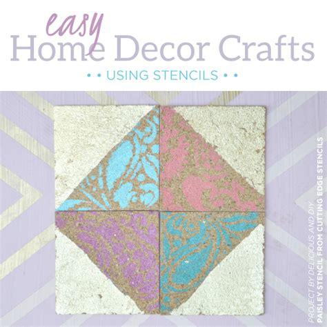 home decor stencils easy home decor crafts using stencils stencil stories