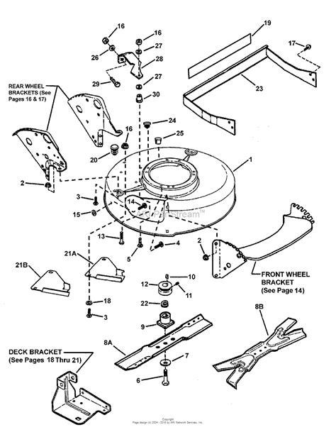 snapper lawn mower parts diagram snapper wmr216017bv 84744 21 quot 6 hp steel deck quot mr