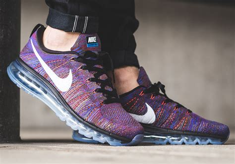 Nike Flyknit Airmax Multi Color nike air max flyknit multi color medium blue sneakernews