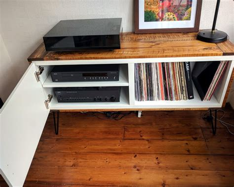 ikea hifi rack hack got best 197 covered a record player stand ikea hackers