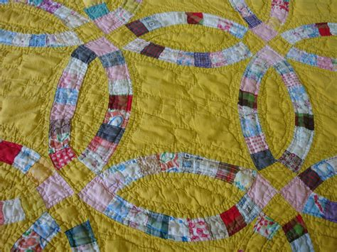 Yellow Quilt Mireio Finds Vintage Quilts On Etsy Mireio Designs