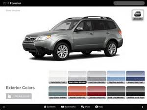 Subaru Forester 2015 Colors 2015 Subaru Outback Specifications Options Colors
