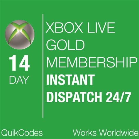 xbox 7 day trial free xbox live gold 14 day 2 week trial codes instant dispatch 24 7 worldwide ebay