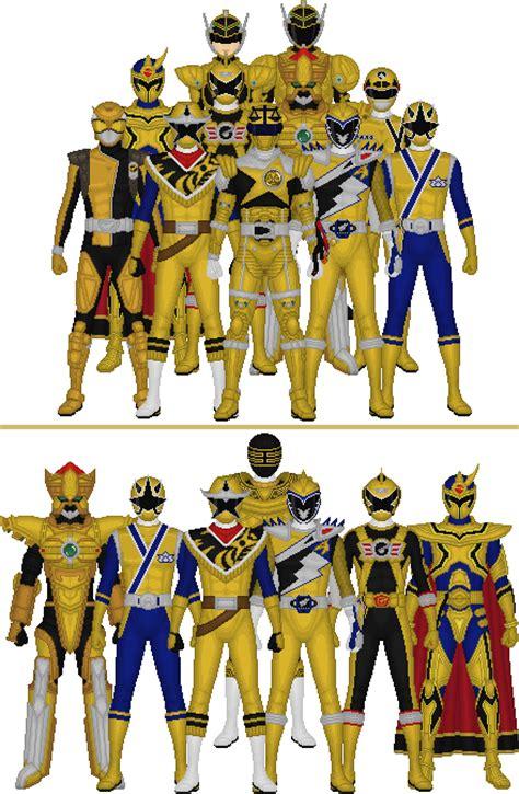 Motor Sentai Shinkenger Gold Ranger Ori all sentai and power rangers golds by taiko554 on deviantart