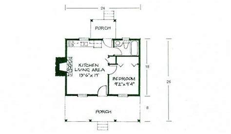 1 Bedroom Log Cabin Floor Plans by Small Log Cabin Plans Refreshing Rustic Retreats