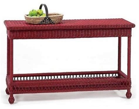 mainly baskets eastern shore sofa table asian console