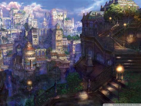 anime village wallpaper fantasy villages fantasy village hd wallpapers n o d