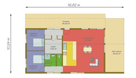 t3 combien de chambre mod 232 les de maisons d habitation 224 ossature bois brives