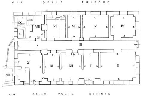 insula floor plan regio iii insula v casa delle volte dipinte iii v 1