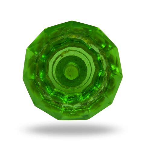 Green Glass Knobs by Green Decorative Furniture Knob Cut Glass Door Knob Dresser