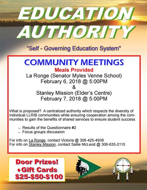 stanley mission statement education authority la ronge stanley mission feb 6