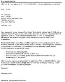 cover letter example cover letter examples for second job