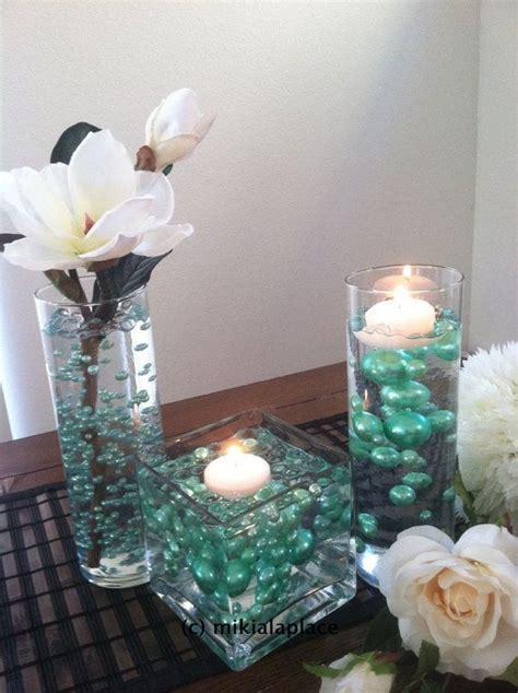 Seafoam Green Jumbo Pearls/Table Confetti mix by