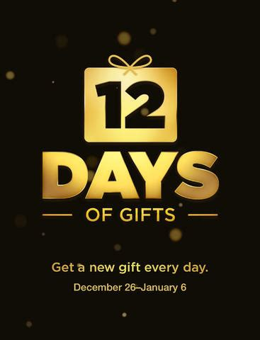12 days of gifts from apple free