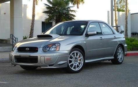 subaru impreza 2005 price used 2005 subaru impreza wrx sti pricing features edmunds